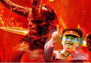 В фильме «Хеллбой» наши переводчики превратили Сталина в Гитлера