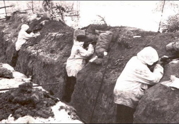 Укрепления на Линии Маннергейма. 1939 год