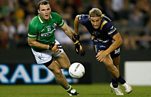 Фото №1 - Команды Австралии и Ирландии сыграли непонятно во что (ВИДЕО)