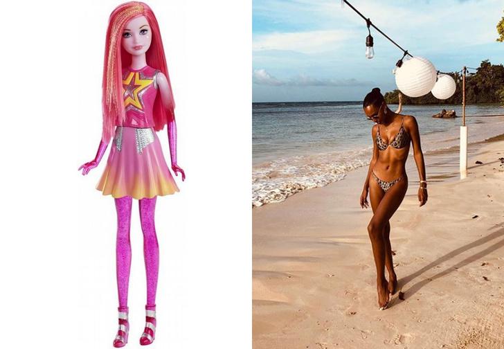 Фото №1 - Флешмоб «Ноги Барби» — лучшее, что происходило с соцсетями этим летом!