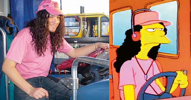 Слэш - прототип водителя автобуса Отто