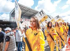 Самые красивые greed-girls этого лета и сумасшедшие прототипы в узких поворотах Moscow Raceway!
