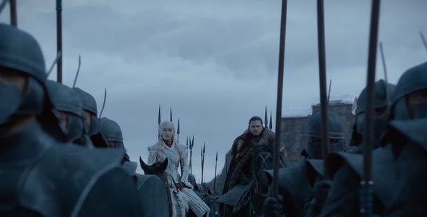 Фото №1 - Новый трейлер «Игры престолов»! Еще горячий, только из пасти дракона