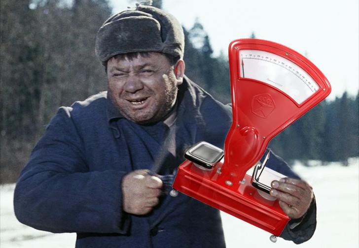 Фото №1 - В Краснодаре налетчик вынес из магазина весы вместо кассы. Ошибочка вышла