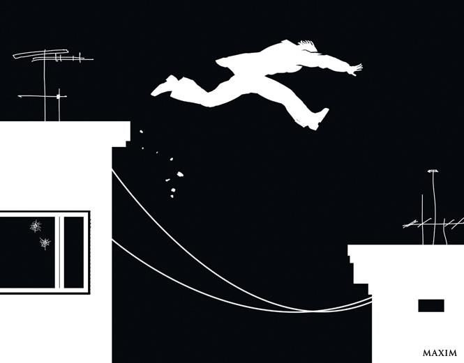 Фото №1 - Как перепрыгнуть с крыши на крышу