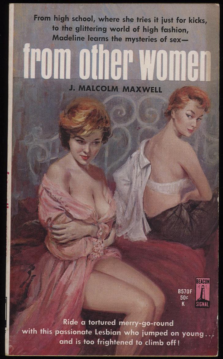 Фото №14 - Обложки старых эротических книг про лесбиянок!