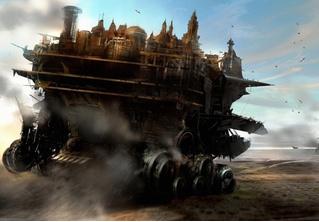 Вышел новый трейлер фэнтези-боевика «Хроники хищных городов». На русском