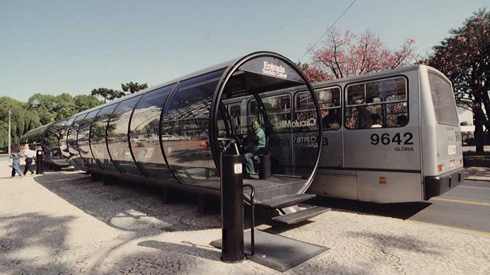 Как вам такие остановки общественного транспорта? :-)