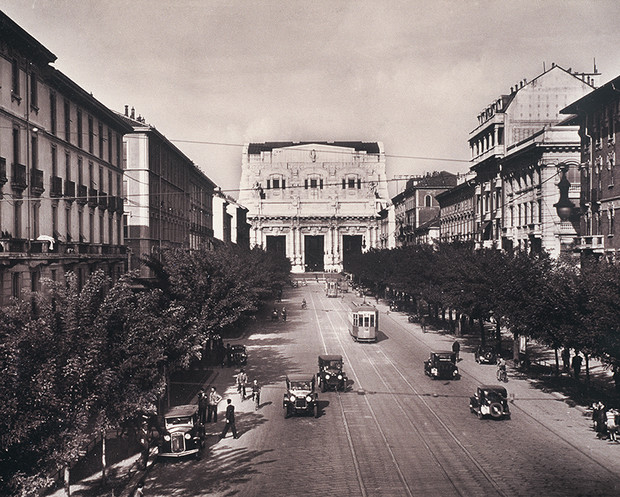 Милан, 1936 год