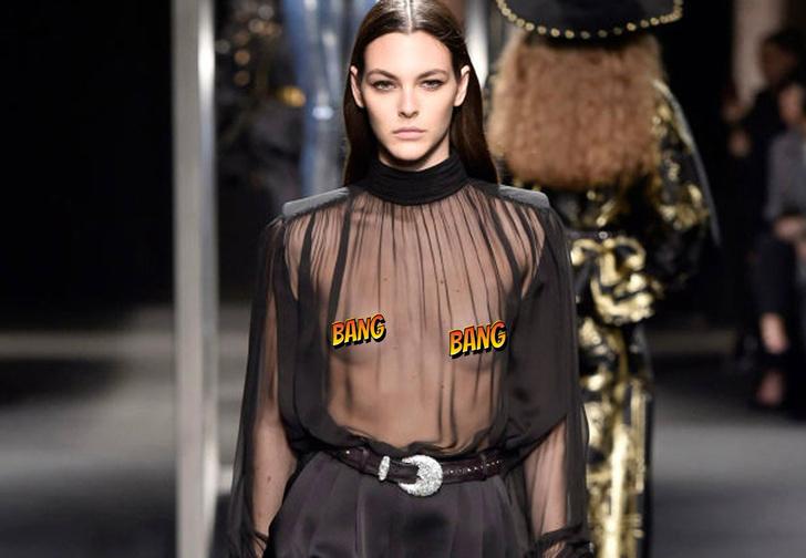 Фото №1 - «Грудь напоказ» — модный тренд, на который мы готовы смотреть снова и снова!
