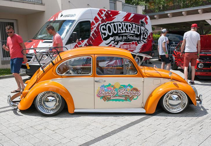Фото №31 - Самые безумные машины фестиваля GTI Treffen