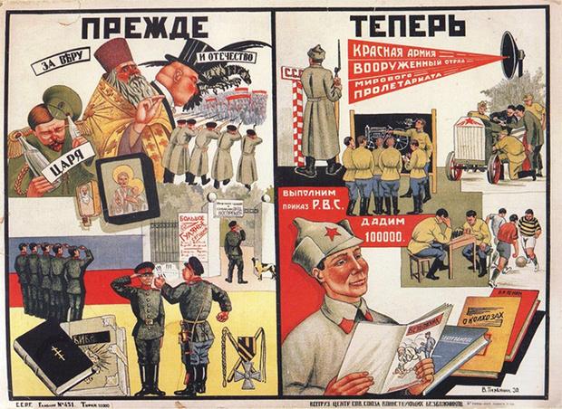 Фото №20 - Советские антирелигиозные плакаты (галерея)