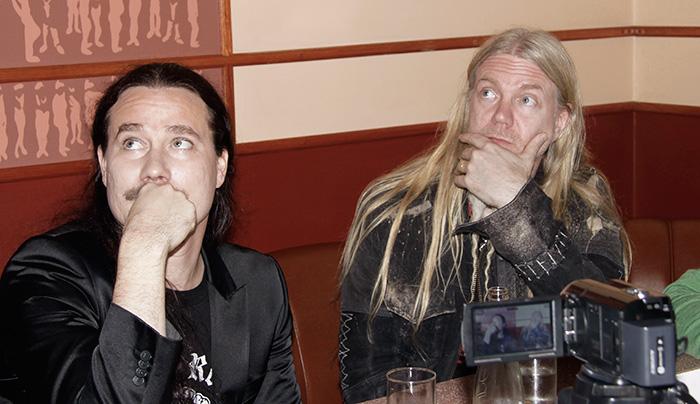 Фото №1 - К ответу! Nightwish: «Мы были молоды и полны тестостерона»