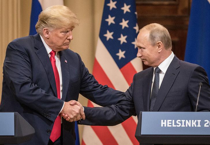 Фото №1 - Встреча Путина и Трампа обошлась в 4 миллиона евро!