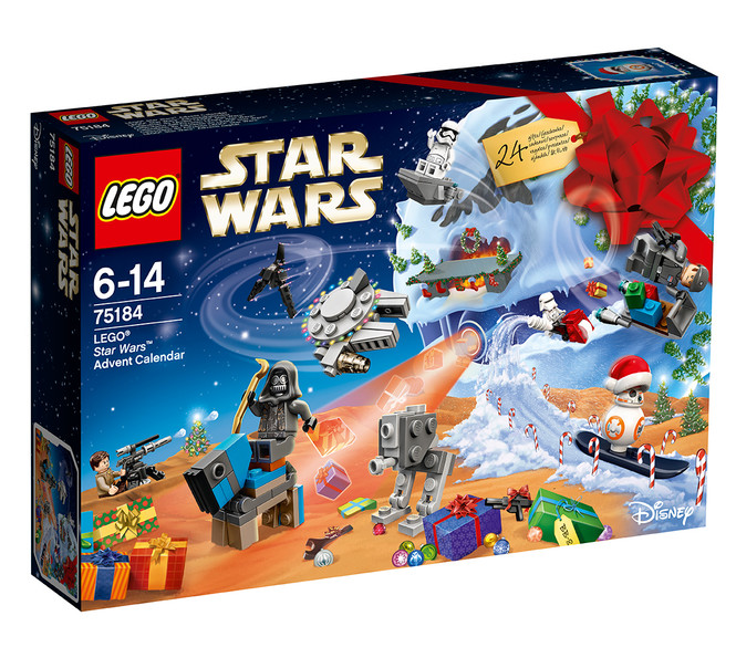 Новогодний календарь LEGO Star Wars