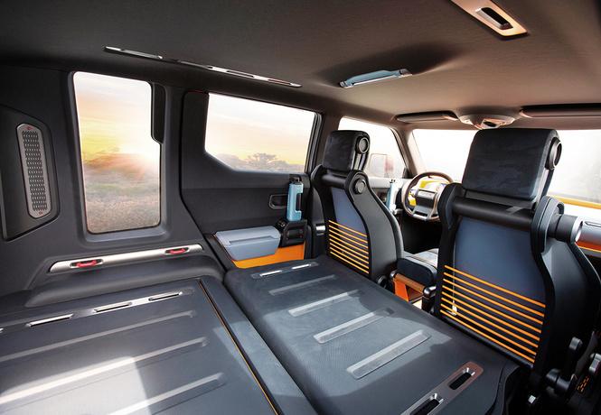 Компания Тойота  показала концепт-кар  нового брутального джипа  FT-4X