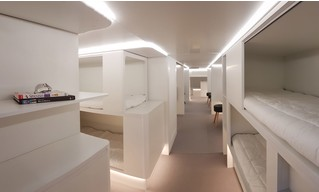 Спальный салон Airbus, похожий на стерильный плацкарт (ГАЛЕРЕЯ, ВИДЕО)