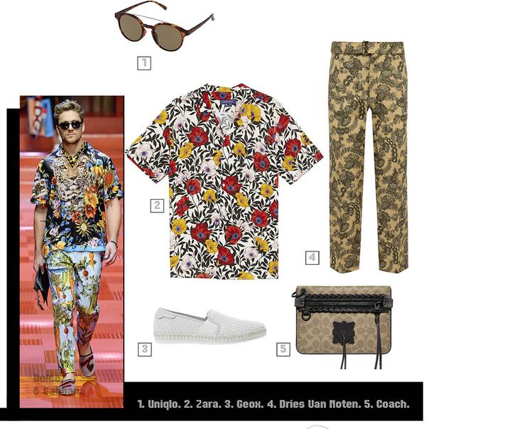 Фото №4 - Как носить растительный принт этим летом? Гид для настоящих мужиков!
