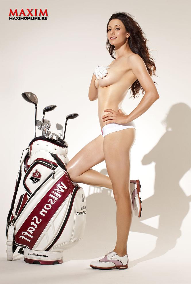 Российские гольфистки голые 11 фотография