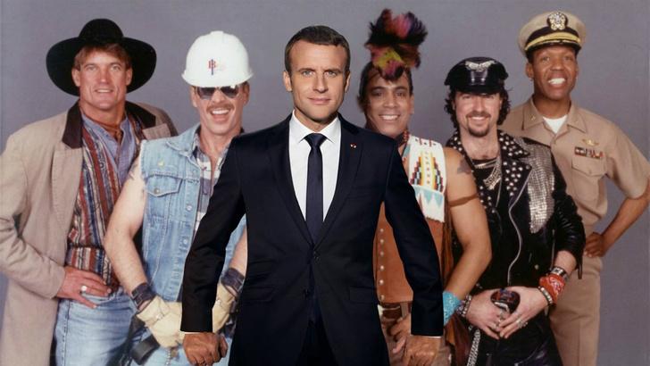 Фото №14 - Лучшие фотожабы на президента Франции Эммануэля Макрона!
