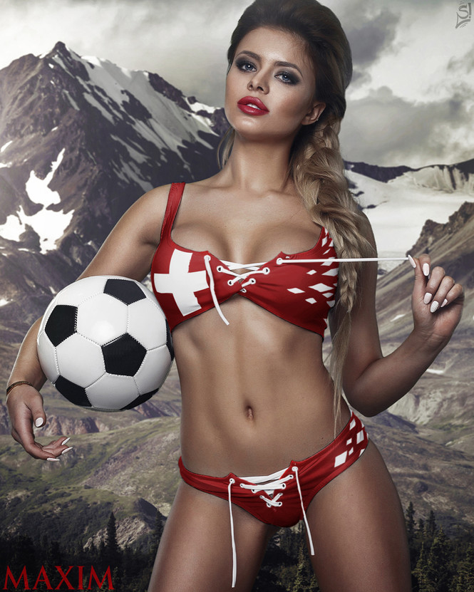 Евро-2016: краткий обзор команд-участниц чемпионата — с моделями вместо скучных иллюстраций! Группа А, Швейцария