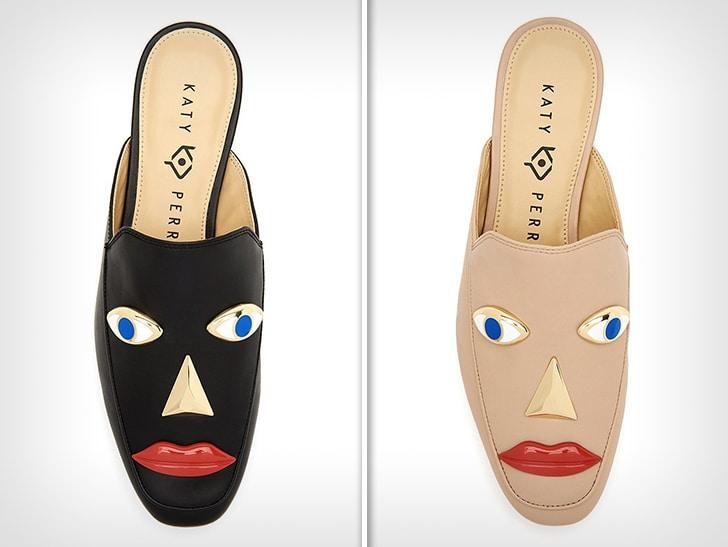 Фото №2 - Кэти Перри обвинили в расизме за чёрные туфли-лица