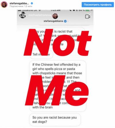 Фото №5 - Расследование MAXIM: Dolce & Gabbana пришлось отменить показ в Китае из-за двух маленьких черточек