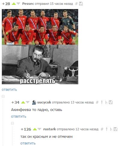 Фото №2 - Лучшие шутки о поражении наших футболистов. Часть 3