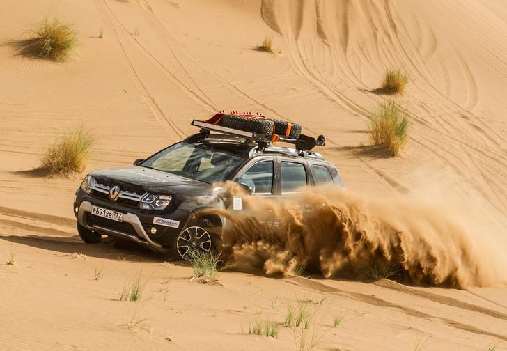 Фото №1 - Renault Duster: до Сахары подбросишь?