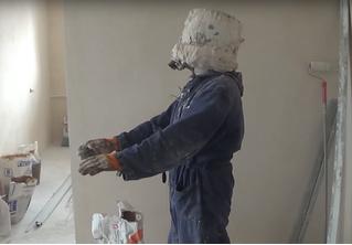 Что будет, если замуровать свою голову в строительном гипсе