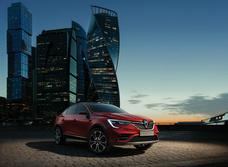 Renault Arkana: московская знаменитость