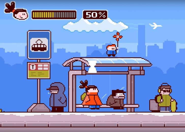 Фото №1 - Вышла российская социальная реклама в стиле игры Super Mario (меткое видео)