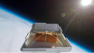 Как приготовить чесночный хлеб при помощи космоса (ВИДЕО)