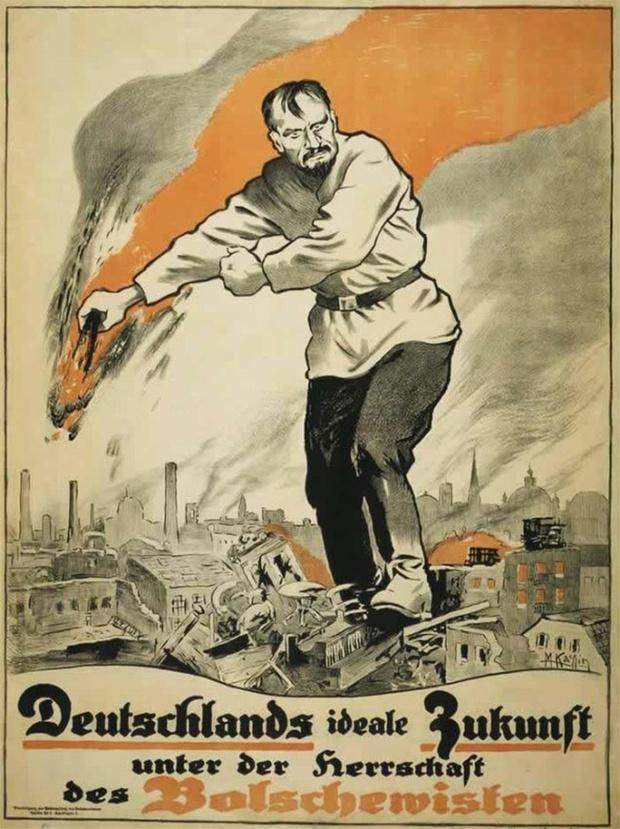 Фото №4 - 24 исторических плаката с антисоветской агитацией