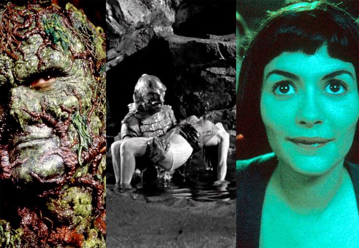Фото №1 - Все кадры «Формы воды», повторяющие другие фильмы, в одном ВИДЕО