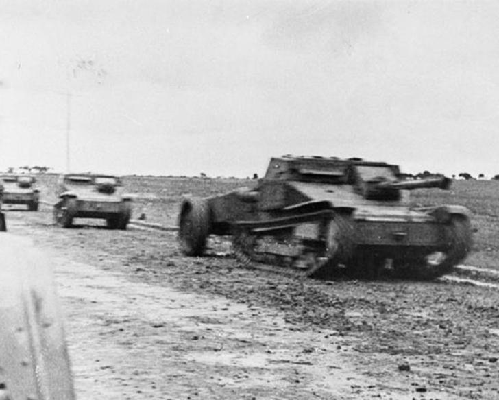 Фото №3 - Операция Х. Первый танковый бой в истории РККА: Т-26 против итальянских огнеметных танкеток
