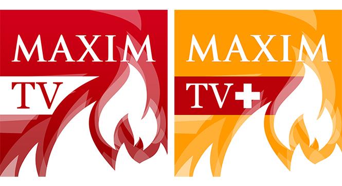 Иконки MAXIM TV и MAXIM TV+