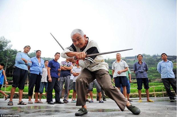 Фото №4 - Найдена деревня, в которой все жители владеют кунг-фу!