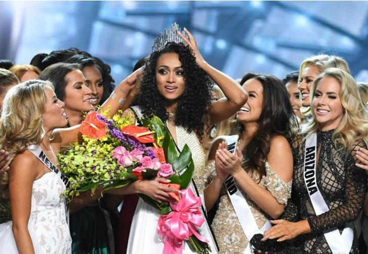 Фото №1 - Скандал десятилетия на конкурсе «Мисс Америка»!