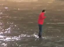 Разоблачение фокуса «Хождение по воде»