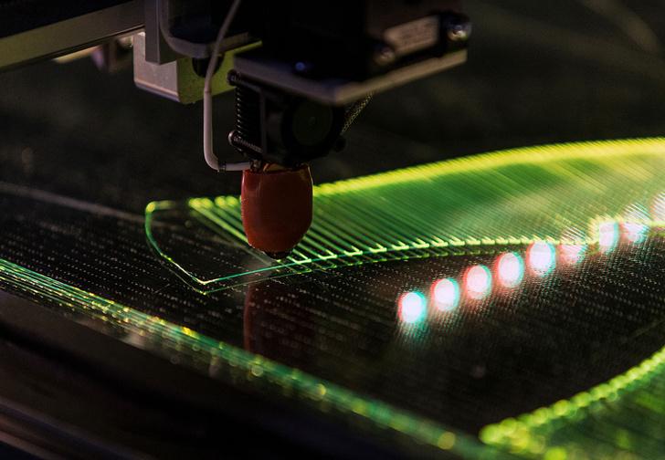 Встречай: первая в мире синтетическая ткань для производства спортобуви, напечатанная на 3D-принтере