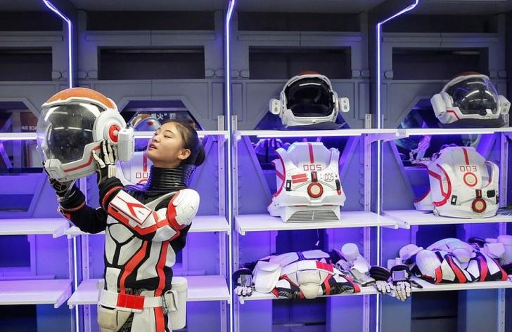 Фото №2 - В Китае построили марсианскую базу
