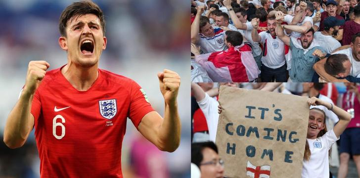 Фото №1 - Что значит выражение «It's coming home» — главный мем британских фанатов на ЧМ-2018!