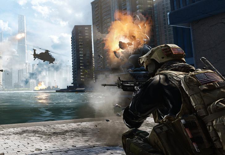 Фото №1 - Танки, взрывы и вертолеты: не пропусти самое красивое видео из Battlefield 4!