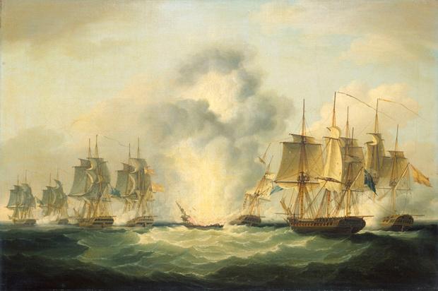 Испанский фрегат «Нуэстра Синьора-де лас Мерседес»