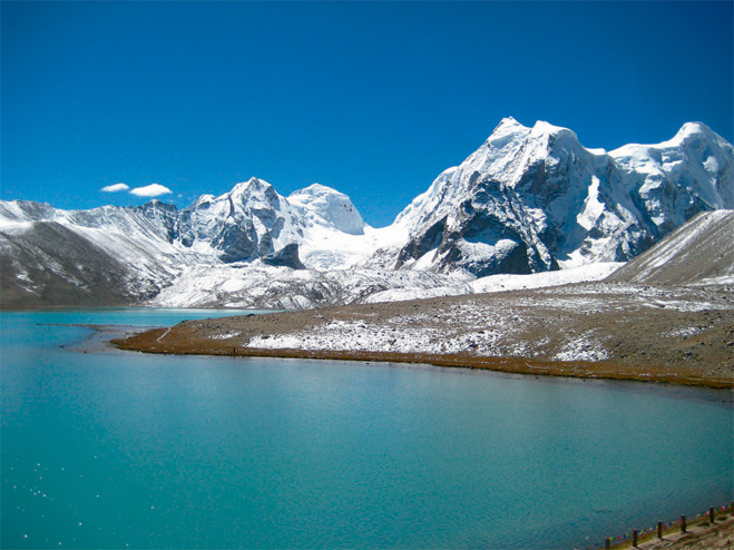 Штат Сикким, который в индийской мифологии считается садом бога Индры