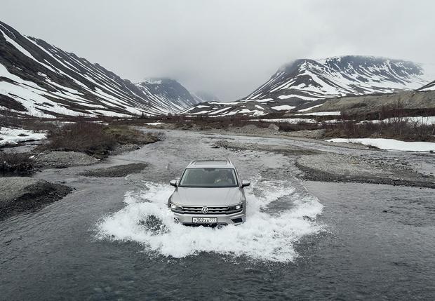 Фото №1 - И целого асфальта мало: наш тест-драйв Volkswagen Tiguan в условиях Русского Севера