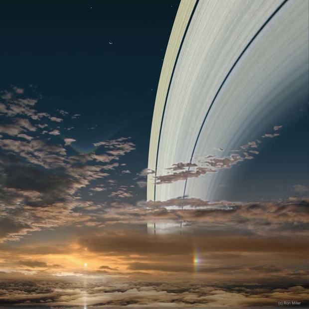 Фото №7 - Как выглядит Солнце с каждой из планет Солнечной системы (галерея)