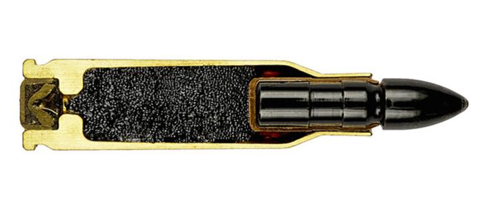 Фото №1 - 17 фотографий разрезанных патронов