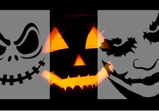 25 лучших трафаретов для хеллоуинской тыквы